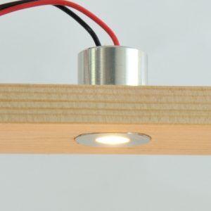 Push fit LED lighting