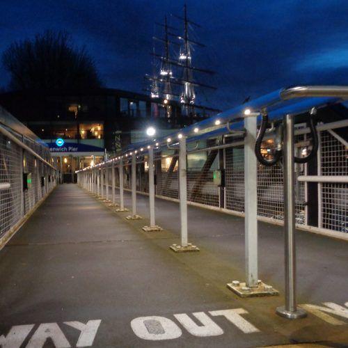 Pier Handrail Lighting