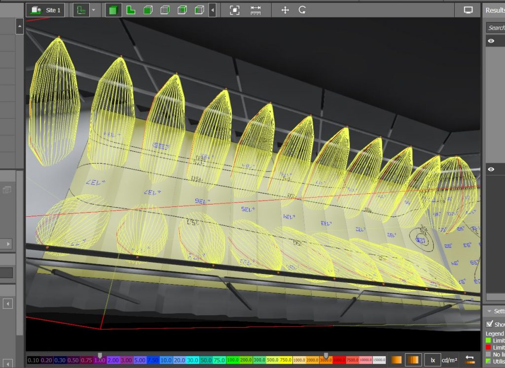 Illuminated Handrail Planning Transit Lighting Support